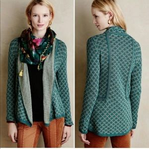 Anthropologie Isley Knitted & Knotted Cardigan